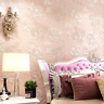Floral 3D Embossed Textured Non-woven Wallpaper Rolls 10X0.53m Living, Bed Room