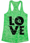 LOVE Billiards Women's Burnout Racerback Tank Tops Pool Player Gift Eight Ball $16.95 USD on eBay