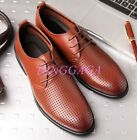 Fashion Summer Leisure Mens Hollow Out Breathable Lace Up Oxfords Sandals Shoes