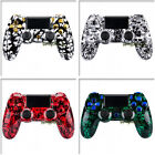 Hydro Dipped Full Housing Shell With Chrome Color Button Kits for PS4 Controller