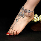 1Pc Fashion Silver Plated Ankle Chain Barefoot Sandals Beach Wedding Jewelry