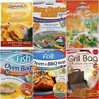 Sealapack Cooking Bags, Roasting, Oven & BBQ, Fish, Microwave Steam, Slow Cooker