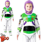 Deluxe Buzz Lightyear Boys Fancy Dress Toy Story Disney Space Childrens Costume