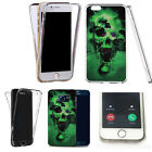 360° Silicone gel shockproof case cover for most mobiles -design ref zq433 clear