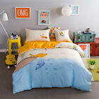 Cute Cotton Bed Quilt Duvet Cover Set Patchwork Bedspread Quilt