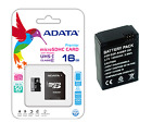 Battery For Gopro Hero3 Hero3+ AHDBT-301 302 HD Charger Memory Card 32GB 64GB