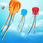 Kite Octopus Parafoil Line Outdoor Large Toy 3d Sport 8m Power Long Kites String