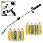 Gas Burner Blaster Weed Wand Blowtorch Garden Torch Weeds Killer & Gas Refills