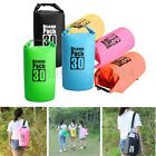 2/5/15/30L Outdoor Waterproof Canoe Camping Hiking Backpack Dry Bag Pouch Sack