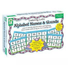 Listening Lotto Alphabet Names & Sounds KE-846033 1-12 Players Ages 4-up New