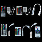 HOT 3/24/44 keys IR Remote Controller Wireless For 3528 5050 RGB SMD LED Strips