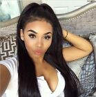 "Brazilian Straight 13x2"" Virgin Human Hair Ear to Ear  Lace Frontal Closure"