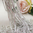 5/10M Rhinestone Trimming Cup Chain Silver Metal Crystal Sewing Wedding Dress