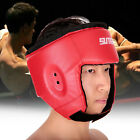PU Boxing Helmet Closed Type Boxing Head Guard Sparring MMA Muay Thai Brace Head
