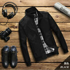 New Men's Slim collar jackets fashion jacket Tops Casual coat outerwear hot