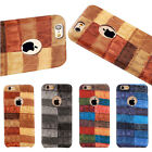 Ultra-thin Colorful Texture Leather Back Cover Case For Apple iPhne6/6s 7 Plus