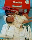 HUGGIES LITTLE SNUGGLERS MICRO PREEMIE TO 4 PDS  -10 DIAPERS  VERY TINY- NEW
