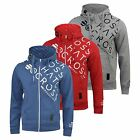 New Mens Hoodie Crosshatch Zip Up Sweatshirt Scully Sweater Summer/Autunm 2017