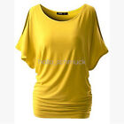 Plus Size Fashion Women Summer Tops Short Sleeve Blouse T-Shirt Casual NEW