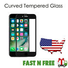 SOINEED Full Cover 3D Curved Tempered Glass Screen Protector for iPhone 7/7 Plus