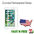 SOINEED Full Cover 3D Curved Tempered Glass Screen Protector for iPhone 7/7 Plus <br/> All Glass &amp; Real 3D✔9H Hardness✔Edge to Edge✔Retail Box