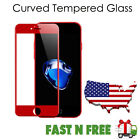 SOINEED Full Cover 3D  Tempered Glass Screen Protector for iPhone 7 8 X Plus
