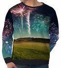 Spectacular Fireworks Men's Long Sleeve Sweatshirts wa5 aam40491