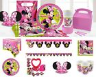 Disney Minnie Mouse Happy Helpers Girls Birthday Party Supplies Decorations Sets