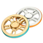 ECUBEE Wheel Aluminium Alloy Round Fidget Spiner Hand Spinner with Rubber Ring