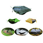 Camping Hammock Tent with Mosquito Net and Rainfly Rain Cover Waterproof Shelter