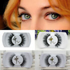 Makeup Cross False Eyelashes 3D Mink/Horse hair  Eye Lashes Extension Handmade