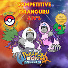 Pokémon SUN & MOON - COMPETITIVE ORANGURU BATTLE READY 6IVs - ⭐️ Shiny/No Shiny