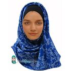 TheHijabStore Lovely Lace Print Maxi Hijab