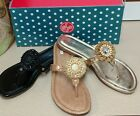 LINDSAY PHILLIPS NWT~ROSIE SANDALS  REG. 59.95 INTERCHANGEABLE SNAPS
