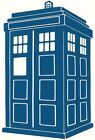 TARDIS CALL BOX Image Vinyl / Decal ~ Doctor Who ~ U Pick Size & Color (23color)