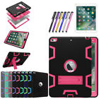 "Hybrid Armor Protective Stand Cover Case Stand for New iPad 9.7"" 2017 5th Gen"