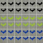 BATS Stickers Waterproof, ideal for Walls, Tiles, Glass, Ceramics, Wood, Cars