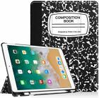 For iPad Pro 10.5 inch 2017 Case Cover Stand Shell with Pencil Holder Wake/Sleep