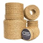 Golberg 3 Strand Natural Fiber Tan Manila Rope Available in Many Sizes & Lengths