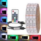 Внешний вид - 0.5M-5M 5050 RGB LED Strip Waterproof  USB LED Light Strips Flexible Tape DC 5V