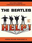 THE BEATLES - HELP LENNON & McCARTNEY METAL SIGN TIN PLAQUE MAN WOMEN CAVE 1070