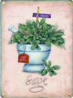 SAGE HERB GARDEN PLANT KITCHEN COOKING TIN SIGN METAL PLAQUE OTHERS LISTED 580