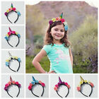 Cool Magical Horn Head Party Kid Hair Headband Fancy Dress Cosplay Decor Gift