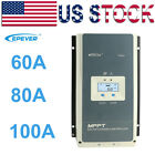 EPEVER 20/30/40A MPPT Solar Panel Controller Charge Wifi Serial Server+EBOX-WIFI