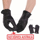 Men Women Winter Driving Outdoor Cold Weather Gloves Glove Lamb Skin Leather