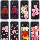 3D Dried Real Flower Pressed Pattern Soft  Phone Cover For Samsung Galaxy S8 S8+