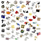 Novelty Quality Classic Sports Animal Cufflinks 183 Designs to choose from