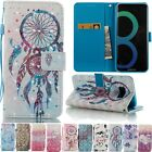 3D Diamond Leather Magnetic Flip Stand Card Slot Wallet Case Cover For Phone