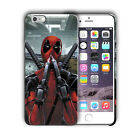 Super Hero Deadpool Iphone 4 4s 5 5s 5c SE 6 6s 7 8 X XS Max XR Plus Case n2