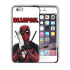 Super Hero Deadpool Iphone 4 4s 5 5s 5c SE 6 6s 7 8 X XS Max XR Plus Case n10